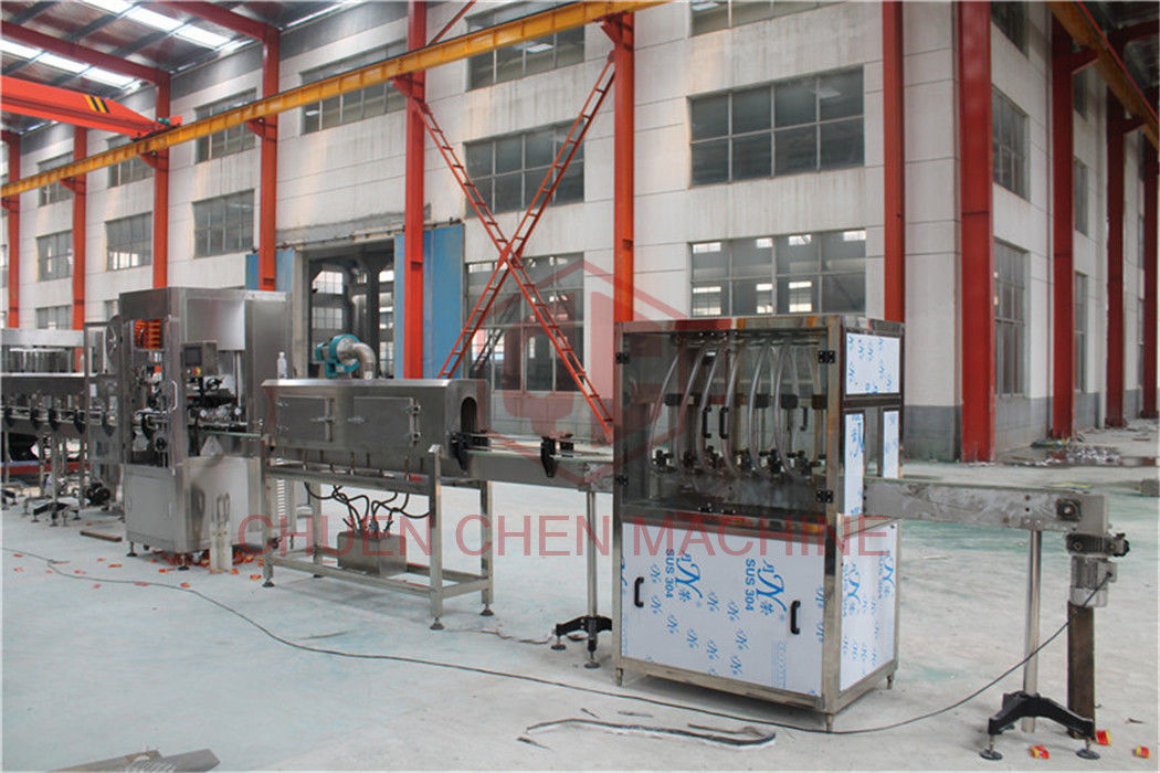 High Precision Glass Bottle Filling Machine For Pure Water , Mineral Water